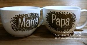Mama and Papa Mugs